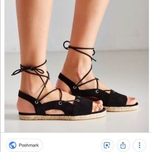 espadrille sandals Urban Outfitters NOT WORN